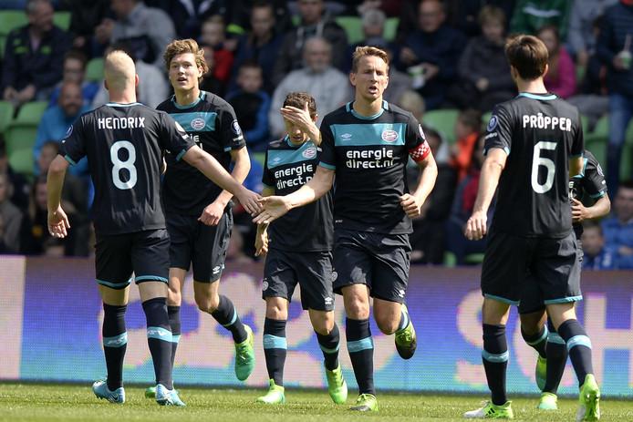 Luuk de Jong scoorde dit seizoen maar 8 in plaats van 26 keer in het vorige seizoen.