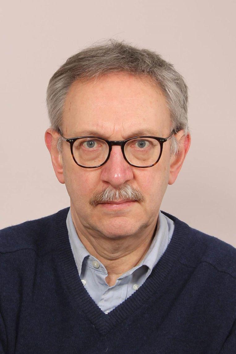 Gabriël van den Brink, oud-hoogleraar maatschappelijke bestuurskunde in Tilburg. Beeld Wendy Waal, Van Der
