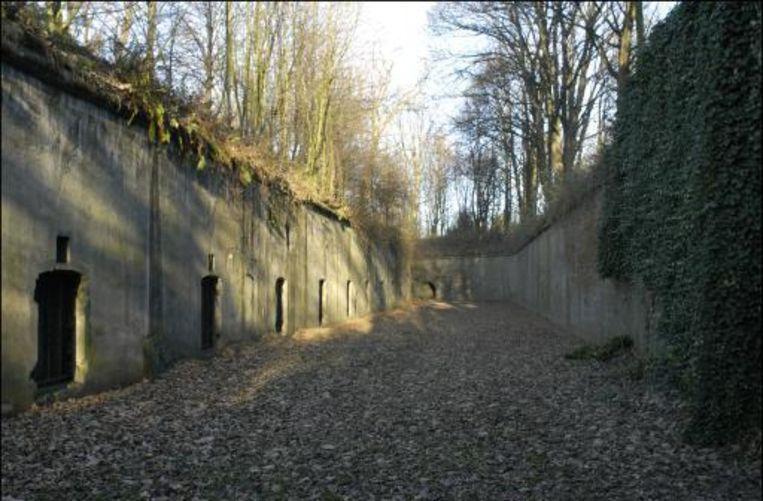 Het Fort van Loncin.