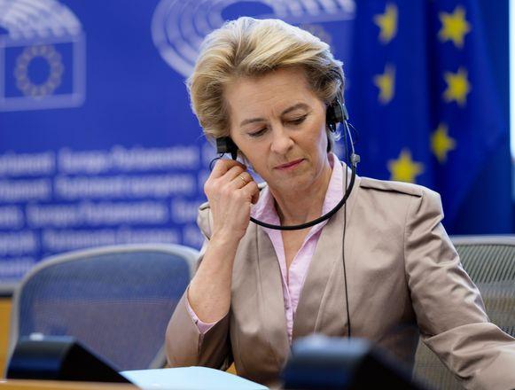 Europees Commissievoorzitster Ursula von der Leyen.