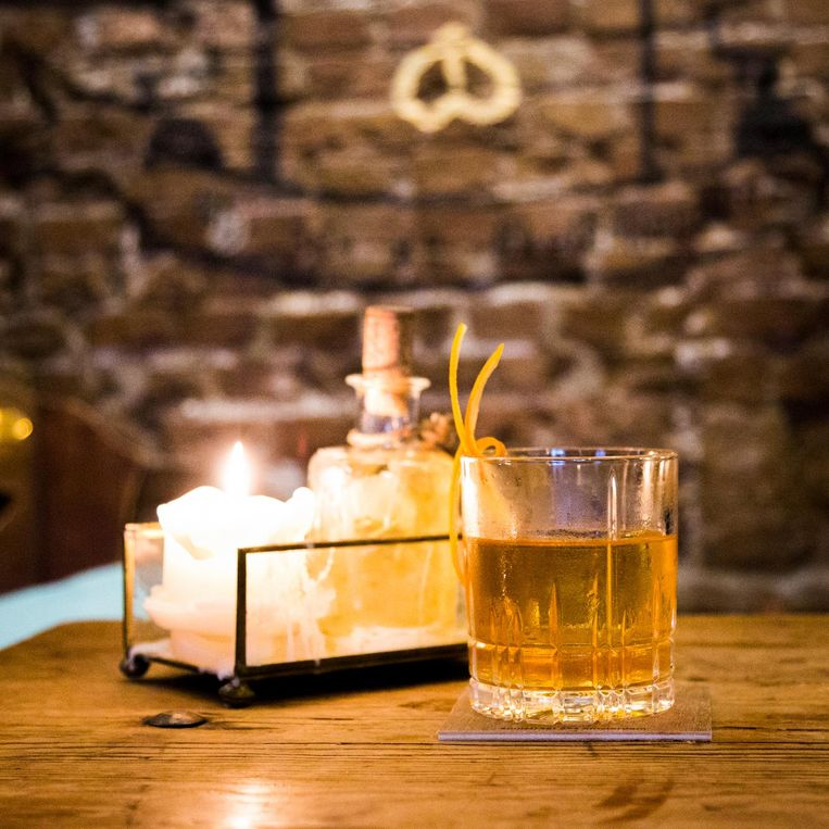 Old Fashioned, cocktailbar De Vlieg Beeld Tammy van Nerum