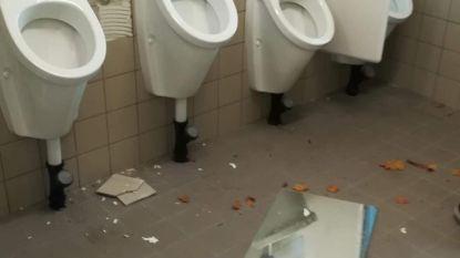 """Vandalen slaan opnieuw toe in gemeenteschool Tilia: """"Wc's, tegels, spiegels... Zelfs het plafond en de muren moesten kapot"""""""