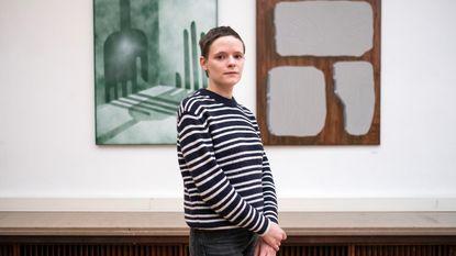 Charline (25) is beste jonge schilder van Europa