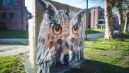 Gespot aan Prinsenhof: de 'vosuil' van kunstenaar Cee Pil