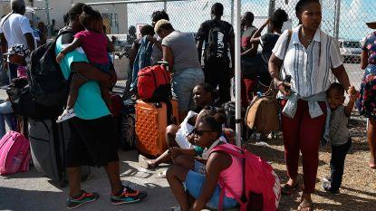 VS geven vluchtelingen Dorian geen speciale status