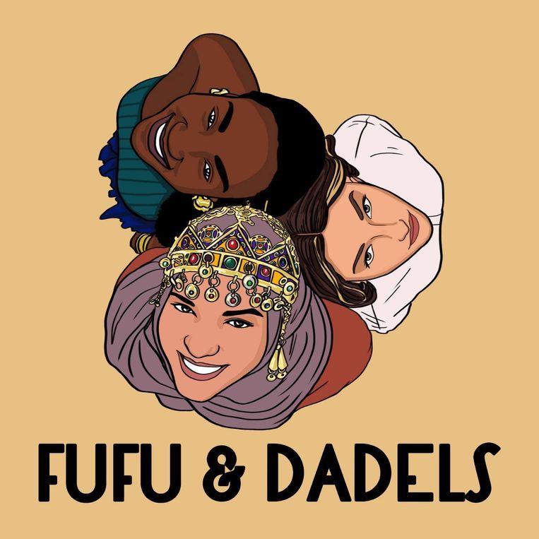 null Beeld Fufu en dadels