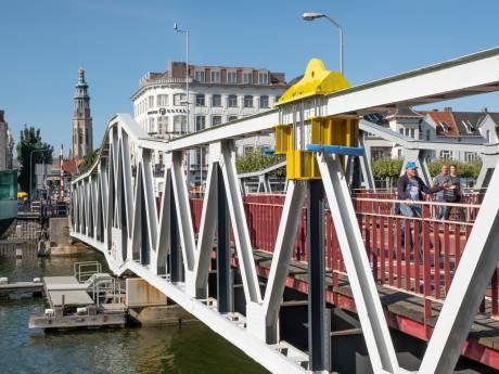 Stationsbrug Middelburg blijft voorlopig liggen