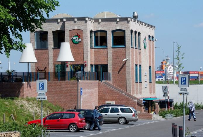 De voormalige coffeeshop Checkpoint.