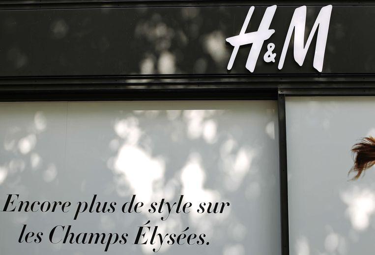 Een H&M-winkel in Parijs. Beeld afp