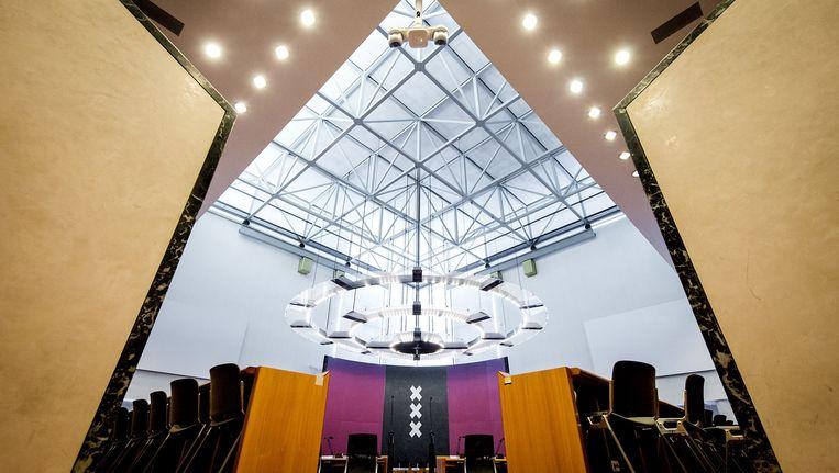 De raadzaal van de gemeente Amsterdam. Beeld anp