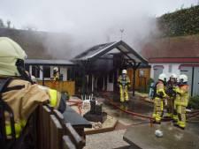 Brand verwoest schuur met sauna in Aalten