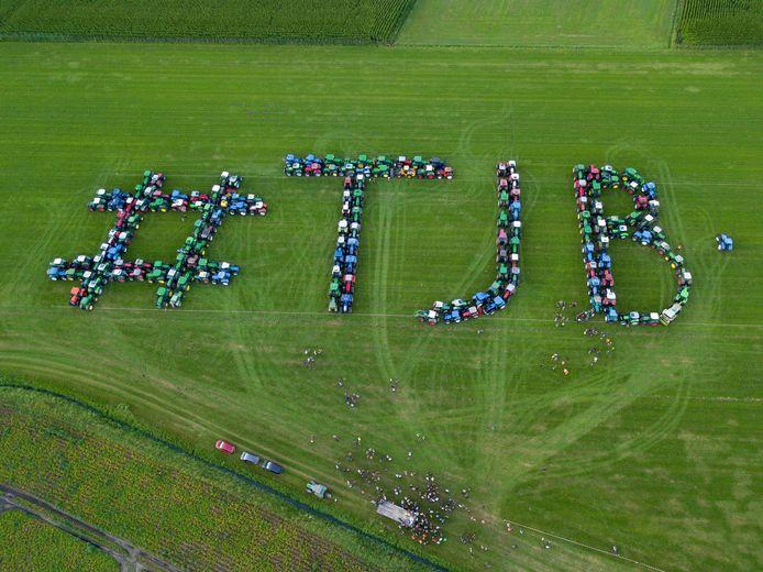 #TJB staat voor Trotse Jonge Boeren.