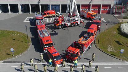 Deinse brandweer vormt hart voor hulpverleners