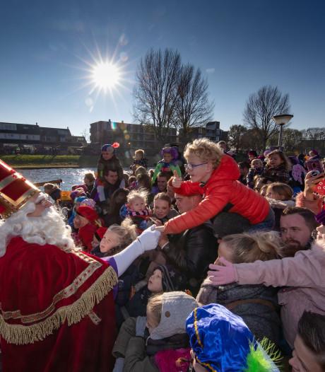 Zo kwam Sinterklaas aan in de regio