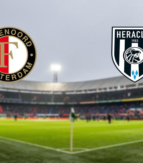 LIVE | Feyenoord met Senesi en Jørgensen in basis, Botteghin op de bank