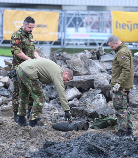 Opnieuw drie Franse granaten uit Eerste Wereldoorlog aangetroffen bij werkzaamheden Honselersdijk