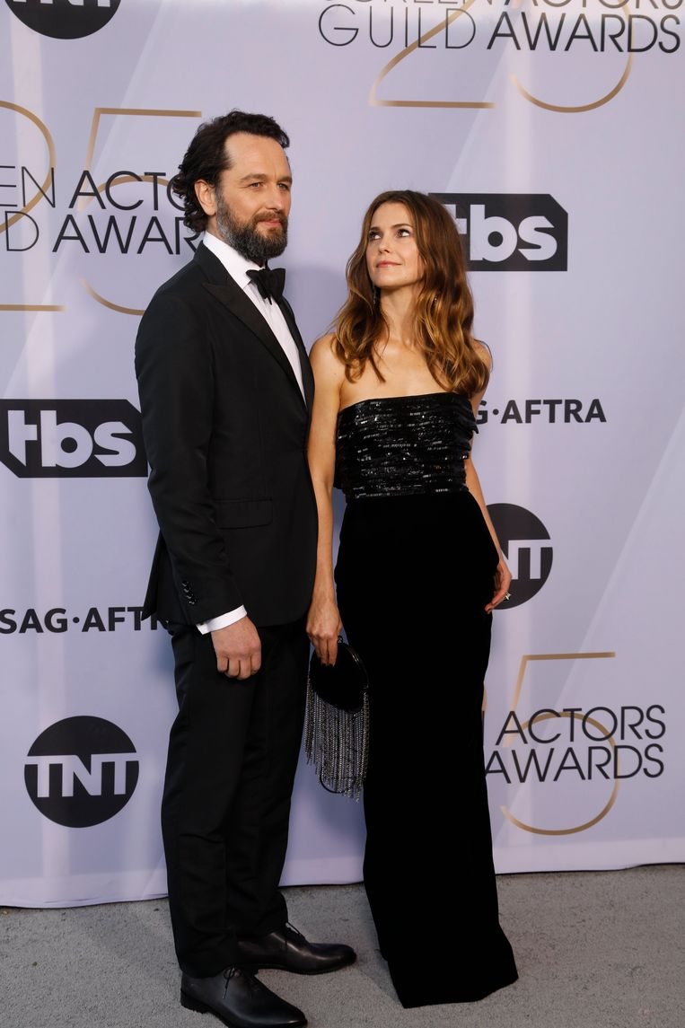 Matthew Rys and Kerri Russell, actors from 'The Americans'