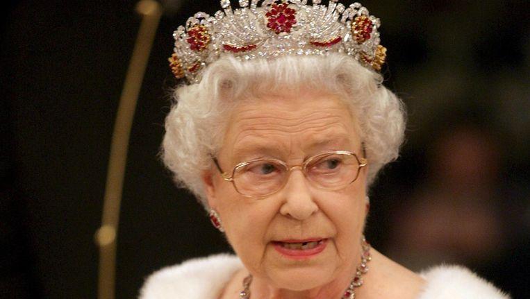 De Britse koningin Elizabeth in october 2008 Beeld epa