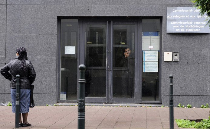Le Commissariat général aux réfugiés aux apatrides à Bruxelles était une cible des terroristes.