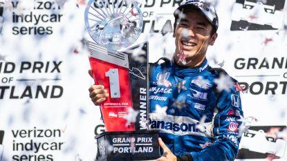 Takuma Sato pakt zege in Portland, IndyCar-wereldtitel nadert voor Scott Dixon