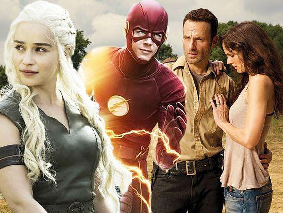 Top vijf van de illegale downloads - Game Of Thrones - Walking Dead - The Flash