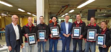 Primeur voor zes monteurs van Kemkens Oss op het terrein van koolmonoxidepreventie