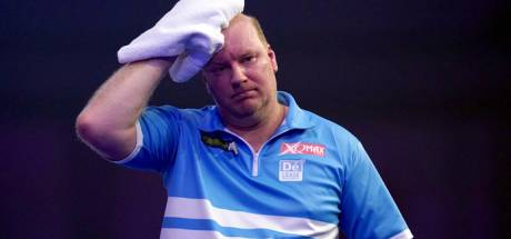 Kwartfinale World Matchplay eindstation Van der Voort: 'Ik kreeg een paar errors in mijn hoofd'