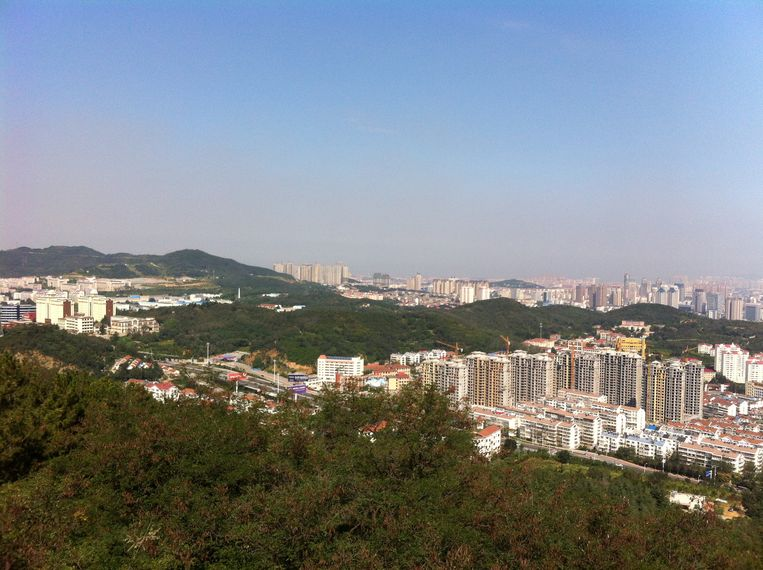 Een beeld van Yantai. Beeld RV