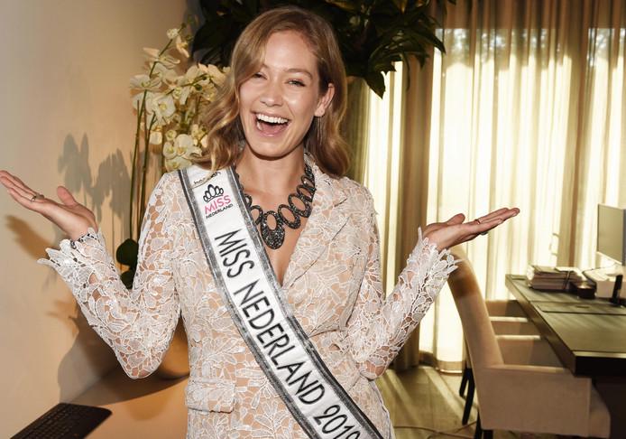 Sharon Pieksma mag zich komend jaar Miss Nederland noemen.