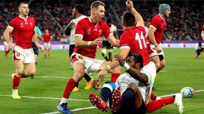 WK Rugby. Wales blijft ongeslagen en stoot samen met Australië door naar kwartfinales