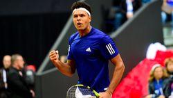Servië en Frankrijk houden elkaar in evenwicht na eerste dag halve finale Davis Cup