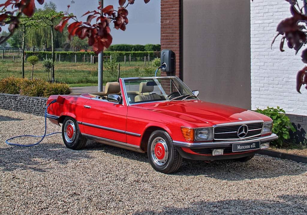 Monceau Automobiles maakt van alle ooit gebouwde Mercedessen elektrische auto's