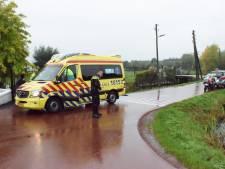 Fietsster gewond bij ongeval op Bovenberg bij Franse Kade in Bergambacht