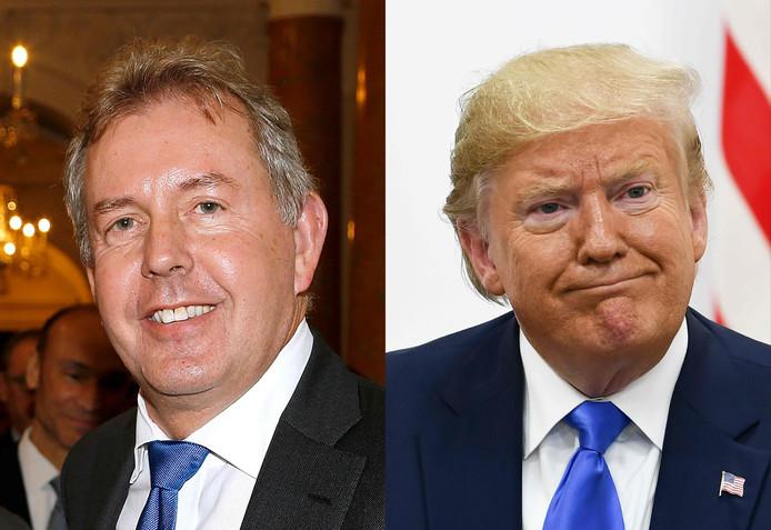 De Britse ambassadeur in de VS noemde president Trump 'incompetent' en 'onzeker'.