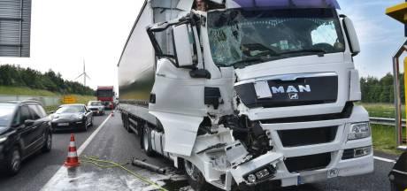 A16 richting Breda weer vrij na ongeluk