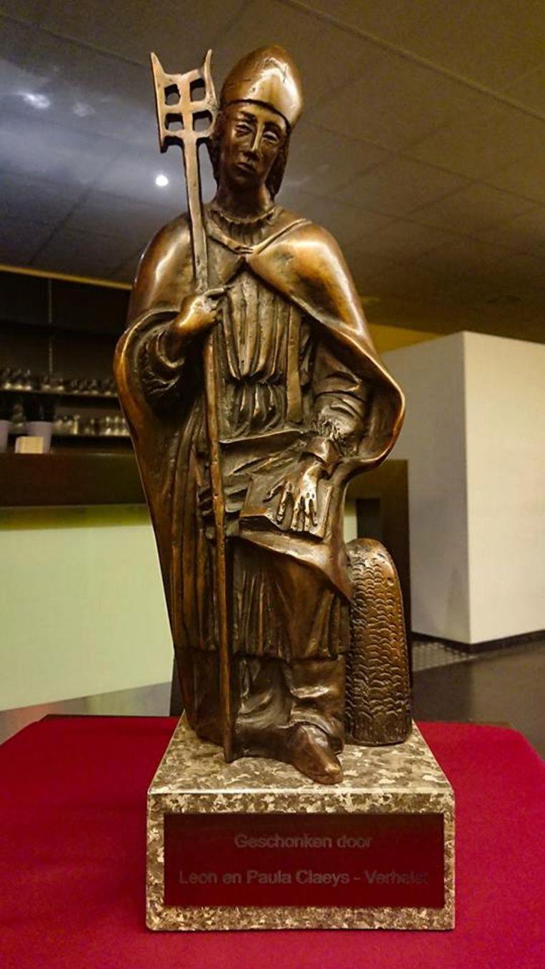 Het Arnoldusbeeld pronkt in het Romeins Archeologisch Museum