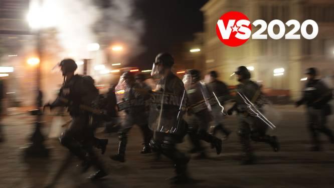 Trump begint de vruchten te plukken van het straatgeweld