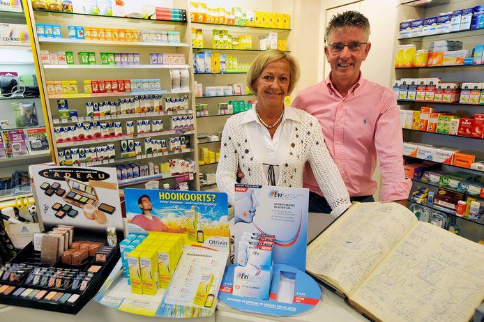 Chris en Corrie Kemps sloten in 2010 de deuren van hun drogisterij in Moergestel: het slotakkoord van drie generaties.