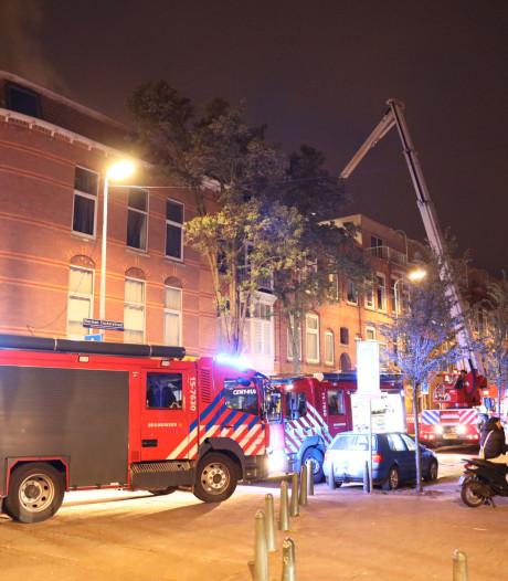 Bewoners geëvacueerd na brand op zolder in Herman Costerstraat