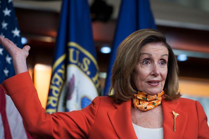 Nancy Pelosi, de Democratische voorzitter van het Huis van Afgevaardigden