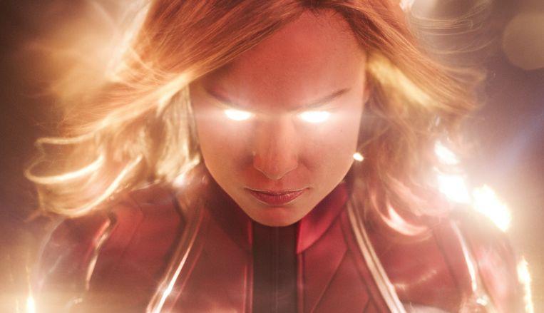 Internettrollen namen actrice Brie Larson onder vuur voor haar vertolking in Captain Marvel.