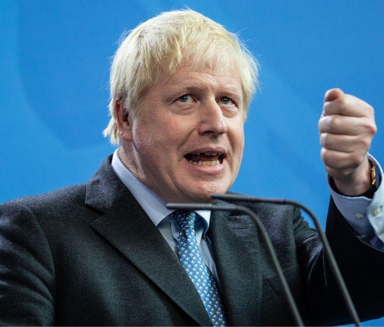 Als je er nu op terugkijkt, kun je het ontstaan van fake news situeren bij Boris Johnson, toen hij als correspondent over de EU schreef. Beeld