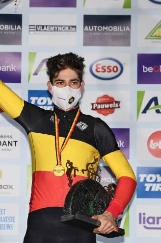 Sterke Van Aert bekroont droomweek met vierde Belgische titel na lange solo