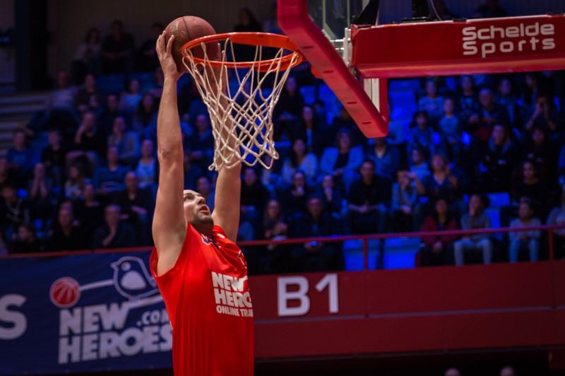 Nick Oudendag is een van de twee spelers van New Heroes in Oranje.