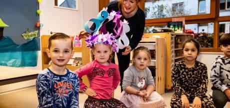 Noémi (4) is de driehonderdste leerling, maar Kindcentrum Rivierenwijk is nog lang niet klaar met groeien