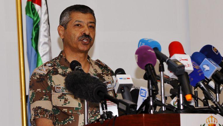 De Jordaanse generaal Mansour al-Jbour zei vorige week dat Jordanië vastbesloten is om IS van de aardbodem te vegen