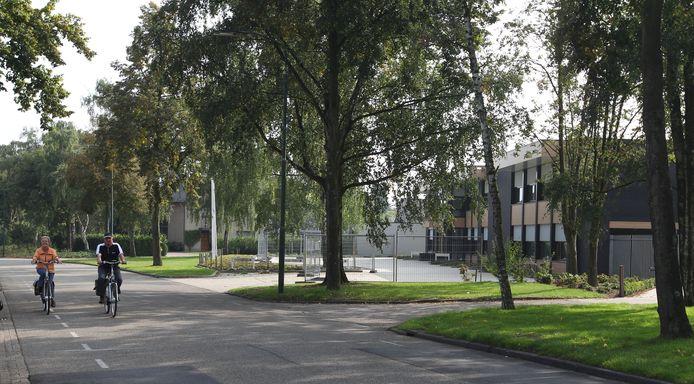 Het bedrijventerrein aan de Kennedylaan in Bergeijk.