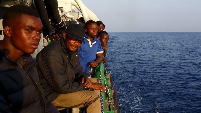 Ook het schip van Artsen zonder Grenzen 'Bourbon Argos' heeft dit weekend bootvluchtelingen opgepikt.