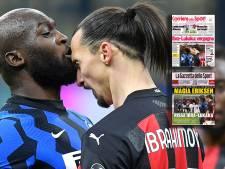Lukaku en Zlatan domineren covers Italiaanse kranten: 'Schaam je'