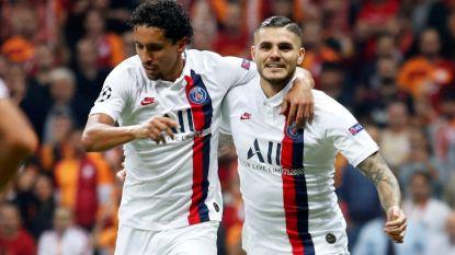 Goal van Icardi volstaat voor nipte zege van PSG tegen Galatasaray, Fransen alleen op kop in groep van Club